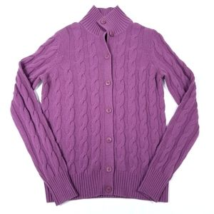 Loro Piana Baby Cashmere Button Up Cardigan